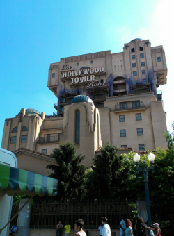 Front view of Tower of Terror