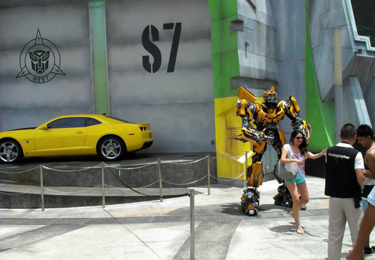 Transformers outside