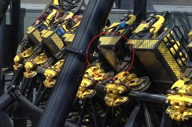 The Smiler Train